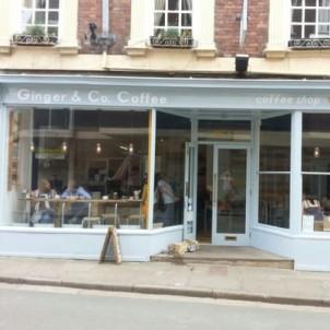 Ginger & Co Coffee Cafe Shrewsbury